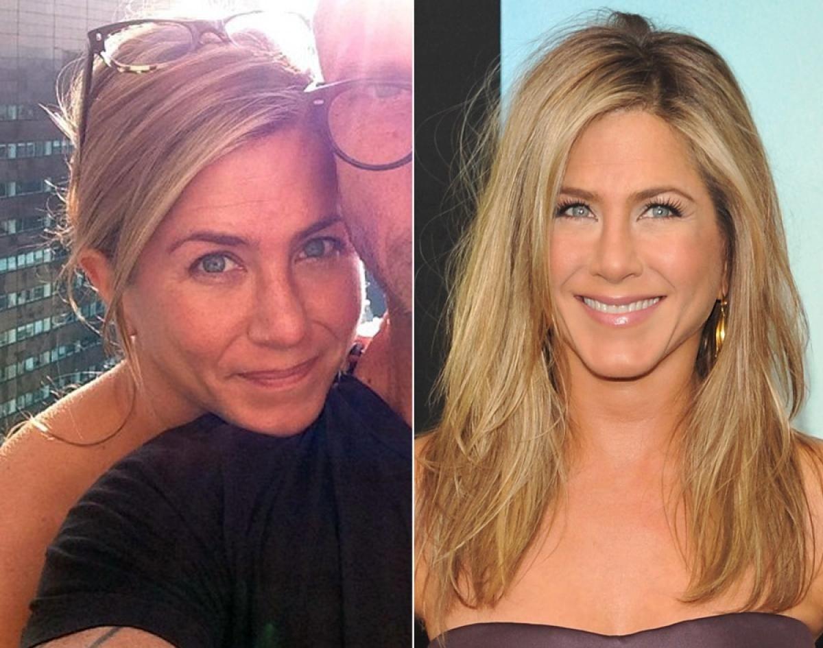 Артисты без макияжа фото до и после