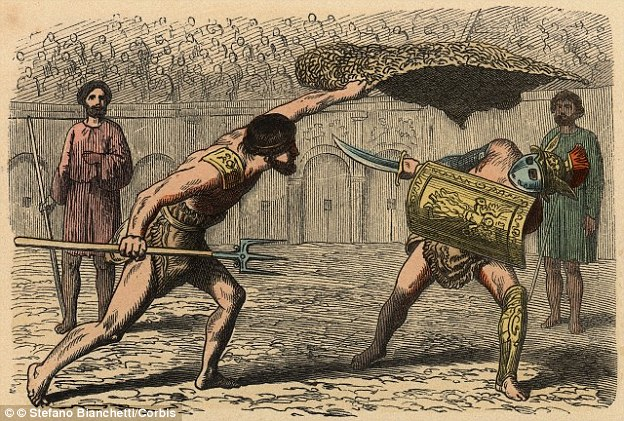 an analysis of the gladiatorial games in ancient rome