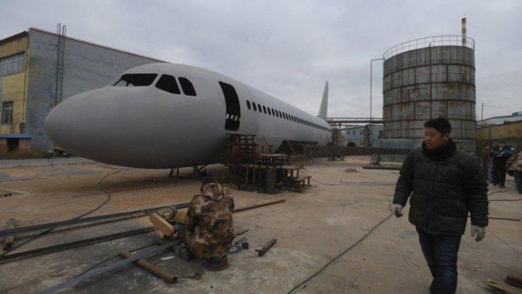 Самодельный модель самолет