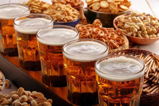 Самые вкусные закуски к пиву